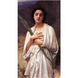 William Bouguereau - The Palm Leaf