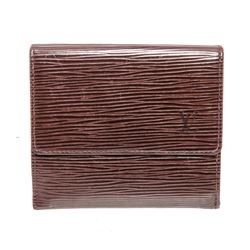 Louis Vuitton Brown Epi Leather Elise Wallet