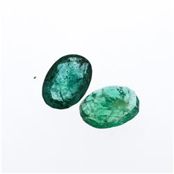 2.5 cts. Oval Cut Natural Emerald Parcel