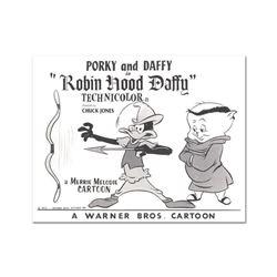Robin Hood Daffy Lobby Card Litho by Chuck Jones (1912-2002)