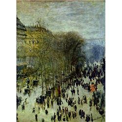 Claude Monet - Boulevard Capucines