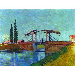 Van Gogh - The Anglois Bridge At Arles (The Drawbridge)