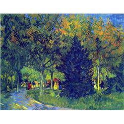 Van Gogh - Allee In The Park