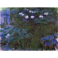 Claude Monet - Water Lillies # 3
