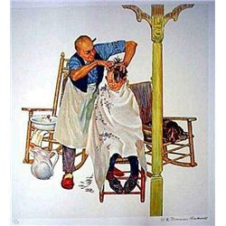 "Norman Rockwell ""Summer Start (Encore Edition) """