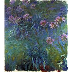 Claude Monet - Jewelry Lilies