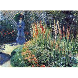 Claude Monet - Gladiolas