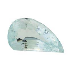 4.96 ct. Natural Fancy Cut Aquamarine