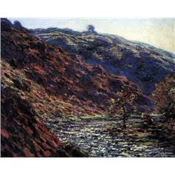 Claude Monet - Gorge of the Petite Creuse