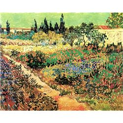 Van Gogh - Flowering Garden With Path