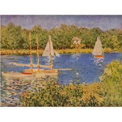Claude Monet - The Seine at Argenteuil Basin