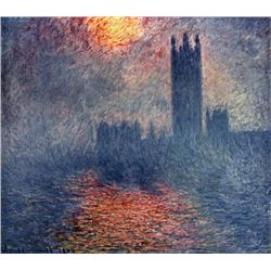 Claude Monet - Parliament in London