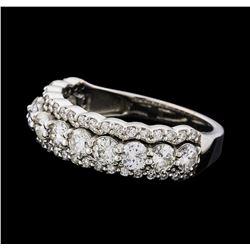 1.42 ctw Diamond Ring - 14KT White Gold