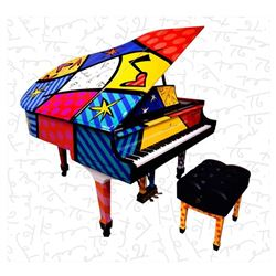 Art That Is Music For My Eyes by Britto, Romero