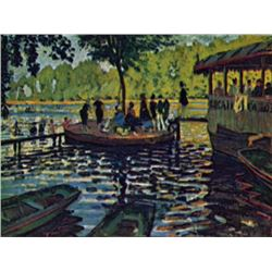 Claude Monet - La Grenouillere