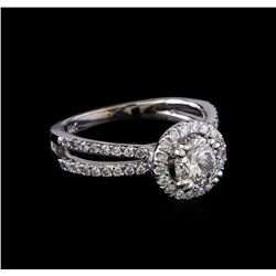 1.27 ctw Diamond Ring - 14KT White Gold