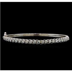 14KT White Gold 1.63 ctw Diamond Bracelet