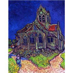 Van Gogh - The Church Of Auvers