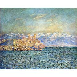 Claude Monet - The Old Fort in Antibes