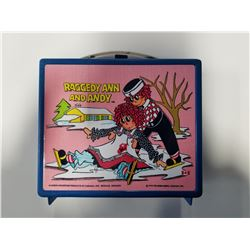 1973 Raggedy Ann & Andy Aladdin Lunch Box