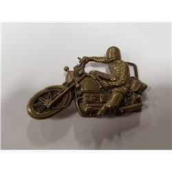 1978 Baron Motorcycle Belt Buckle