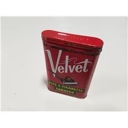 Velvet Pipe & Cigarette Tobacco Pocket Tin