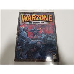 Mutant Chronicles War Zone 2nd Edition; The Forces of War by Target Games