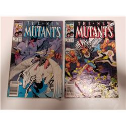 1987 Marvel The New Mutants Comic Books