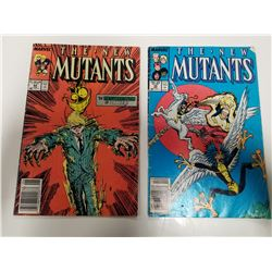 Marvel: The New Mutants Comic Books (1987 & 1988)