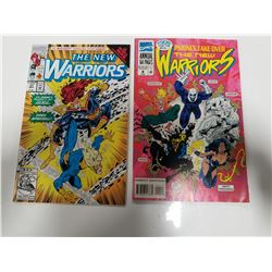 Marvel Comics: The New Warriors Comic Books