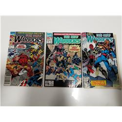 Lot of 3 Marvel Comics