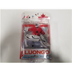 Roberto Luongo White Jersey Team Canada Figurine