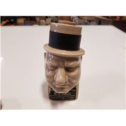 Vintage W. C. Fields Whiskey Decanter