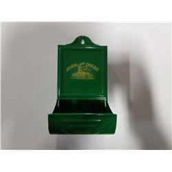 John Deere Moline, Ill Matchbox Holder