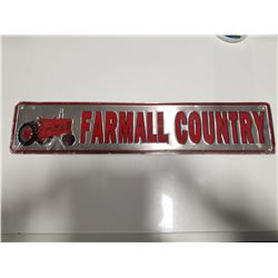 Farmall Country Tin Sign