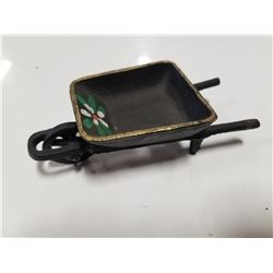 Cast Iron Wheelbarrow Toy