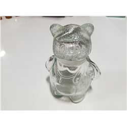 Little Bear Glass Jar