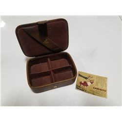 Renwick Caribou Hide Small Jewelry Box