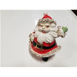 Vintage Chalkware Santa Clause