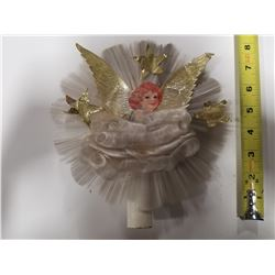 Vintage Christmas Angel Tree Topper