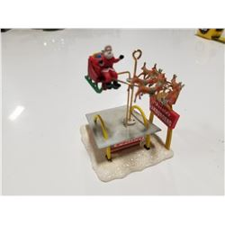 1990 McDonalds Santa Collector Christmas Ornament