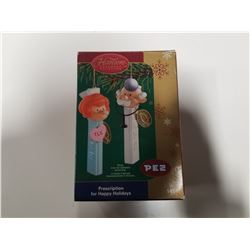 PEZ Heirloom Ornament Collection - 2005 Prescription for Happy Holidays