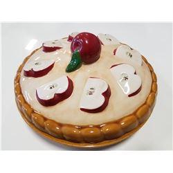Ceramic Apple Pie Saver Plate