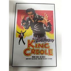 """Elvis Presley Framed Poster Print - """"Elvis Presley King Creole"""""""