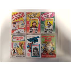 Lot of 6 Comedy Cassette Tapes