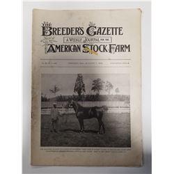 Breeder's Gazette - August 7, 1901