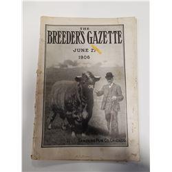 Breeder's Gazette - June 27, 1906