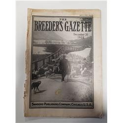 Breeder's Gazette - Dec 30, 1908