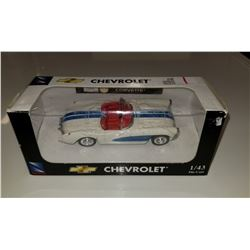 2004 Newray 1957 Chevrolet Corvette 1:43 Scale Diecast