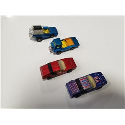 Lot of 4 1972 Lesney Matchbox Superfast Toy Diecast Cars